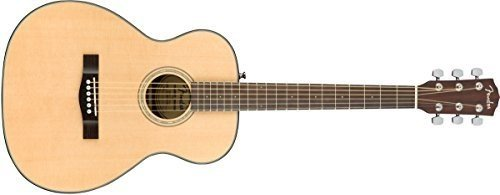Fender CT-140SE Travel Electro Acoustic Guitar - Natural With Hardcase. Guitarra Acústica
