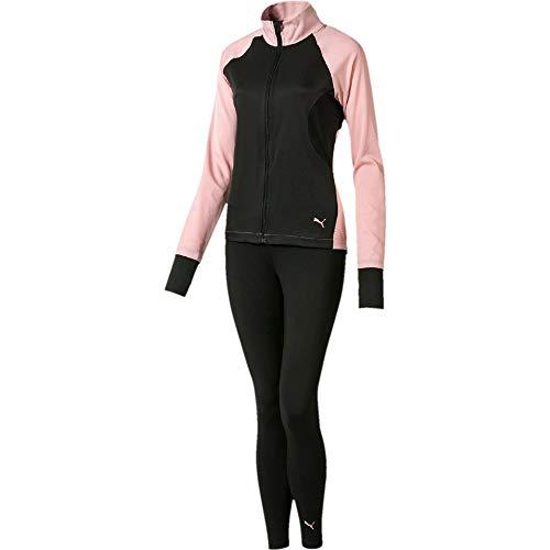 Puma Active Yogini Woven Suit Damen Track Suit Trainingsanzug Bridal Rosa, Größenauswahl:S