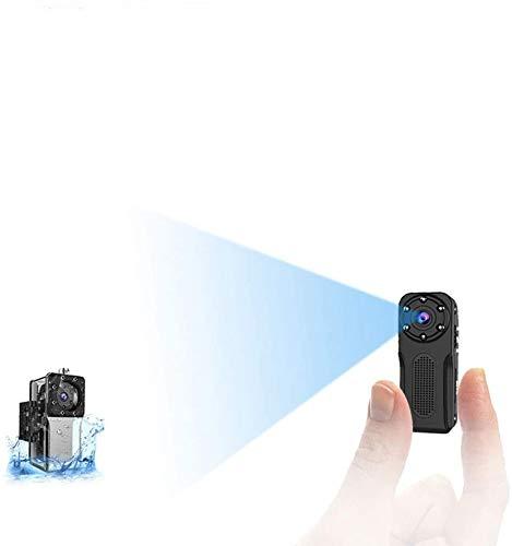 Mini Camara Espia Oculta WiFi Acuatica, NIYPS 1080P Full HD Cámara Vigilancia Portátil Secreta Compacta con Detector de Movimiento IR Visión Nocturna, Camara IP de Seguridad Pequeña Interior/Exterior