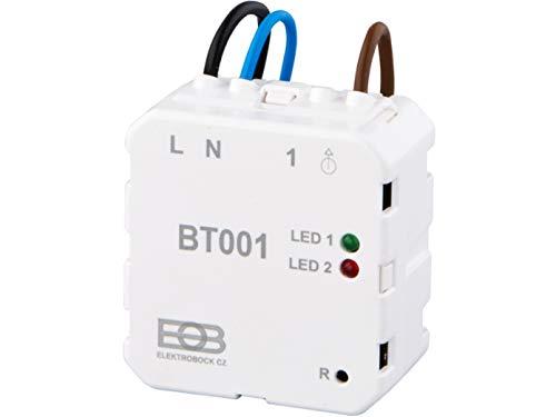 EOB BPT001 Unterputzempfänger einzeln Empfänger, weiß BT001 normal