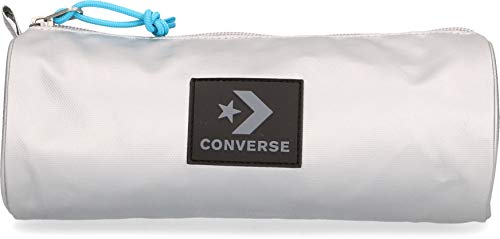 Converse Silver Moon Pencil Case Estuche, Unisex Adulto, 1.2l