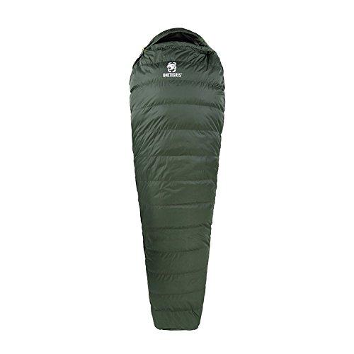 OneTigris Light Patrol Down Sleeping Bag, 3 Seasons, 2.4Ib
