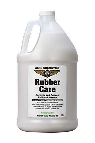 Tire Dressing, Tire Protectant, No Tire Shine, No Dirt Attracting Residue, Natural Satin/Matte Finish, Aircraft Grade Rubber Tire Care Conditioner (128 Ounces / 1 Gallon)