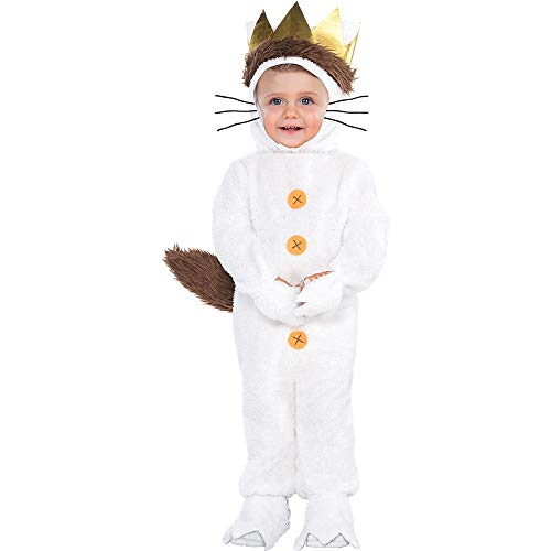 Costumes USA Where the Wild Things Are Classic Max Costume for Babies, Size 12-24 Months, Includes a Hood and a Tail