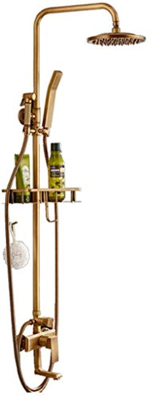ZHANGY Duschset im europischen Stil - alle Bronze Duscharmatur - Hotel Spa Handbrause