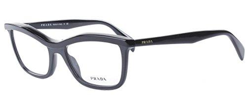 PRADA Montura gafas de ver PR 17PV 1AB1O1 Negro 52MM