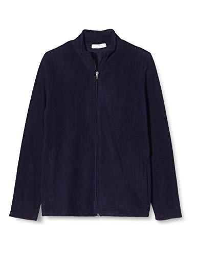 Activewear Giacca in Micropile con Cerniera Donna, Blu (Navy), 44 (Taglia Produttore: Medium)