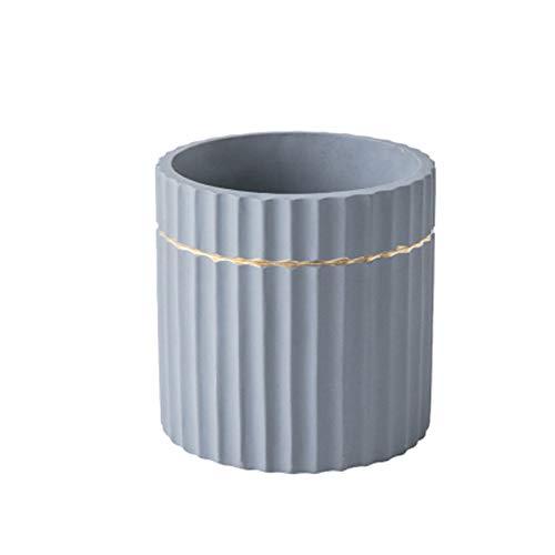 Maceta de cerámica Potes de plantas de flores de interior Moderno Decorativo Pote de jardinería con orificio de drenaje Cerámica Semblera suculenta Pot Phnom Penh Decoración contenedor para plantas al