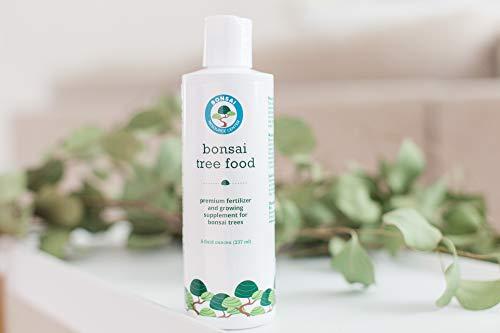 Bonsai Tree Food   Liquid Fertilizer for Bonsai Trees - 8 Fluid Ounces