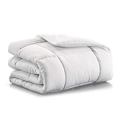 Banzaii Piumino Invernale - Interno Bianco - Piumone Soft 300 gr/mq Matrimoniale Due Piazze 250x200 cm
