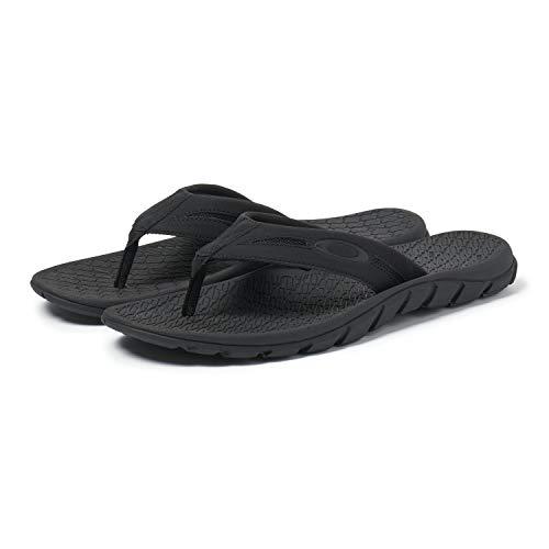 Oakley Men's Operative Sandal 2.0 Flip-Flop, Blackout, 9