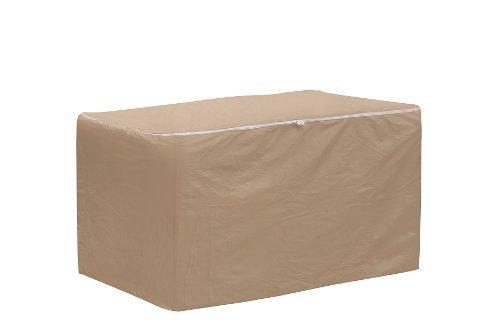 Coques de protection résistant aux intempéries Petit sac de rangement pour coussins de chaise, Tan en Coques de protection