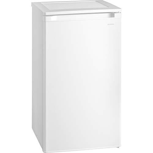 アイリスオーヤマ冷凍庫60L小型家庭用静音ノンフロン前開き温度調節5段階メーカー1年保証ホワイトIUSD-6A-W