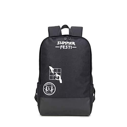 ZIXUAA Sac de voyage de loisirs neutre, High School étudiant sac imperméable à l'eau sac de rangement multi-fonction grande capacité sac à dos,A,Onesize