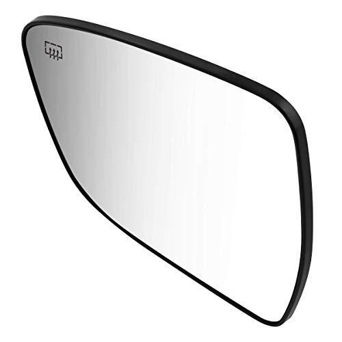DNA Motoring OEM-MG-0442 963664BA1A OE Style Driver/Left Heated Mirror Glass