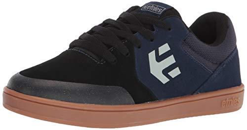 Etnies boys Kids Marana Skate Shoe, Black/Blue, 5.5 Big Kid US