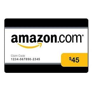 Amazon.com $45 Gift Card (0145) (B002OECSGO) | Amazon price tracker / tracking, Amazon price history charts, Amazon price watches, Amazon price drop alerts