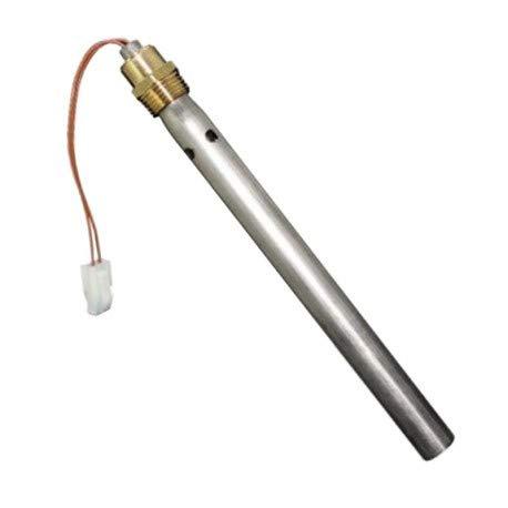 Bujía, resistencia de encendido L. 175 (tubo 190) mm diámetro 9,9 mm (tubo 18) mm, 350 W para estufas de pellet, calderas, quemadores y estufas Ferroli