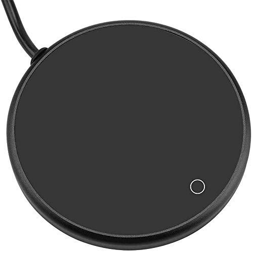 ATIN Calentador eléctrico de silicona USB Calentador de posavasos de aislamiento eléctrico taza calentador para oficina té taza de café calentador Mat