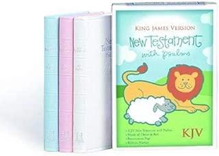 KJV Baby's New Testament, Blue Imitation Leather
