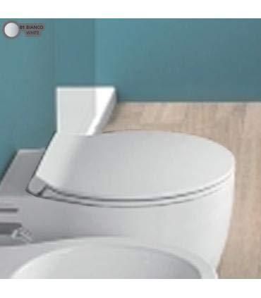 Copriwater coprivaso rallentato a sgancio rapido per sanitari bagno Nido Le Fiabe di Hatria originale