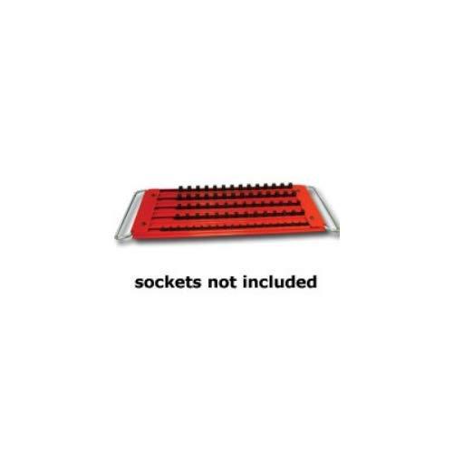 Mechanics Time Saver MTSLASTRAY Lock a Socket Tray– 5 Row, 76 Sockets
