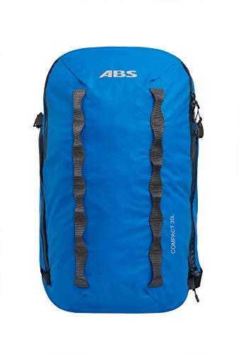 ABS Unisex– Erwachsene Lawinenrucksack Zip-on, Packsack für P.Ride Compact und S.Light Base Unit, 30L Volumen, Fach für Sicherheitsausrüstung, Ski-und...