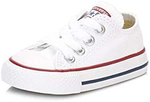 Converse Chuck Taylor C/T A/S Ox, Zapatillas de Estar por casa, Blanco Optical White, 18 EU