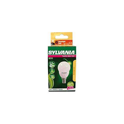Sylvania 400026281 Ampoule à LED flamme 2,5W E14, 2 W, Transparent