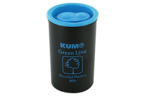 KUM AZ349.00.19-B - Behälterspiter 1870 KK2 Green Line B, recycleter Kunststoff, blau-schwarz, 1 Stück
