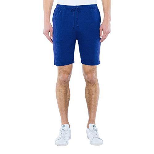 American Apparel Herren Blend Lounge Legere Shorts, Tri-Indigo, X-Groß
