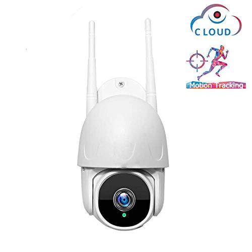 Automatische WIFI-camera, outdoor waterdichte bewakingscamera met nachtzicht, 2-weg audio en bewegingsdetectie
