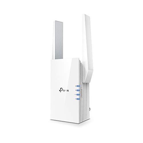 TP-Link 【Nuevo】 RE505X - Repetidor de Red WiFi AX1500, WiFi 6, Extensor Amplificador, Puerto Gigabit, Banda Dual, 2.4 GHz a 300Mbps, 5GHz a 1300 Mbps, Modo Ap, Control Total