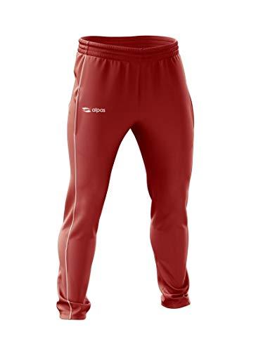 alpas Trainingshose/Jogginghose/Fitnesshose Rot - Gr. 164 bis M *NEU, Größe: M