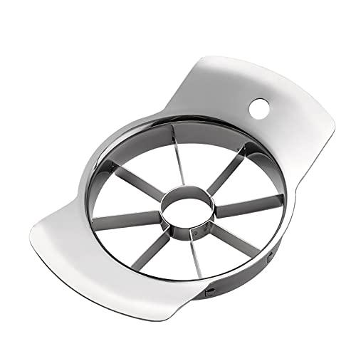 アップルカッター リンゴ切り 8等分 芯抜き 簡単に切り 手間なし オールステンレス製 食洗器対応 手入れ簡単 2個セット シルバー