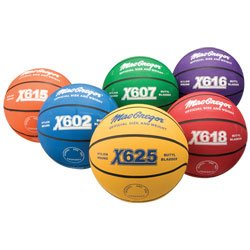 MacGregor Multicolor Basketballs Set Official