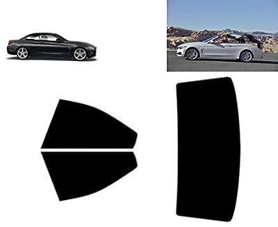 Film Solaire Prédécoupé Teinté pour-BMW 4 série F33 2-Portes Cabriolet 2013-. Vitres Arrière & Lunette