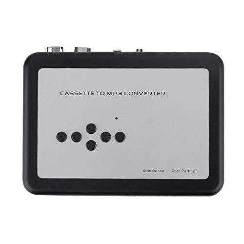 Nrpfell Reproductor de Casete a Cinta de Casete MP3 231 Convertidor de Casete Mp3 USB Convertidor de Cinta