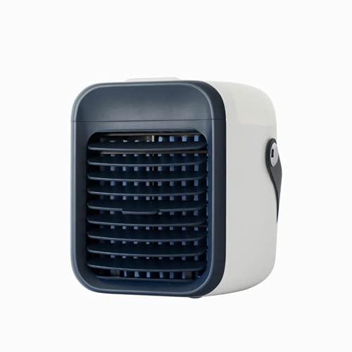 Ventilatori portatili umidificanti, 2 in 1, raffreddatore USB per acqua ghiacciata, condizionatore d'aria per casa, camera da letto, ufficio, tavolo
