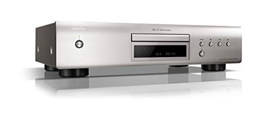 Denon DCD-600 NE - Reproductor de CD con procesador AL32, Color Plateado