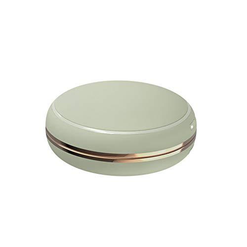 SXFYZCY Nuevo Mini Espejo cosmético portátil del Calentador de la Mano Creativo Que Carga el Banco del Poder Dos en uno