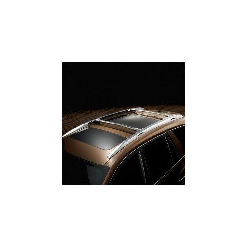 GM 19170765 Roof Rack Cross Bright Anodized with Chrome End Caps-for Use with Factory Side Rails (V2P)