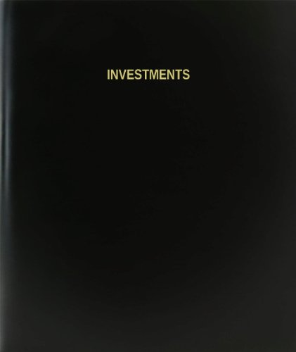 BookFactory Investments Log Book / Journal / Logbook - 120 Page, 8.5
