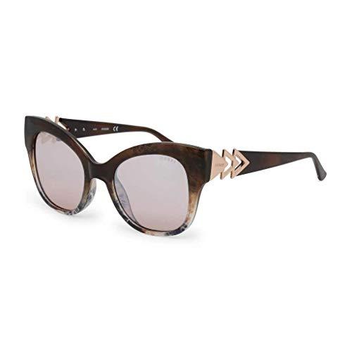 Guess GU7596-5255G Gafas, Marrón, 52/15/145 para Mujer