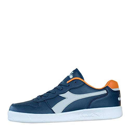 Diadora Playground GS 101173301 Sneaker Unisex Bambino (37 EU, 60065 Blue Denim)