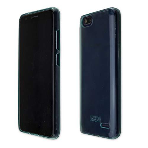 caseroxx TPU-Hülle für Gigaset GS100, Tasche (TPU-Hülle mit & ohne Bildschirmschutz) (TPU- Hülle, blau)