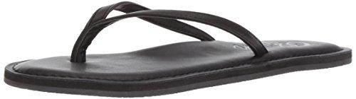 Cobian Women's Nias Flip Flop, Black, 11 M US