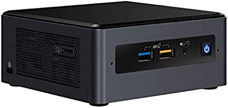 Intel NUC Kit NUC8I3BEH2 - Kit ordenador Mini PC (Intel Core i3-8109U, Espacio para hasta 32 GB SODIMM DDR4 RAM, Espacio para disco M.2 + 2.5
