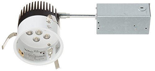 WAC Lighting HR-LED418-R-35 LEDme 4-Inch Recessed Downlight - Remodel - Non-Ic Housing - 3500K