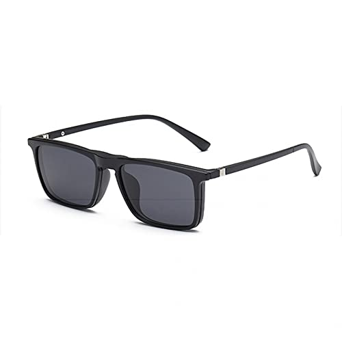 YTYASO Clip de Gafas de Sol polarizadas Clip de Espejo en Gafas de Sol Clip en Gafas Hombres